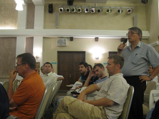 Активное участие слушателей в ходе семинара
